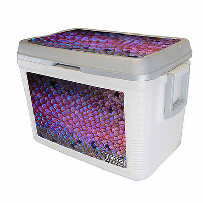 Purple Scale Theme Frio Label Series - 48Qt - Frio Ice Chests