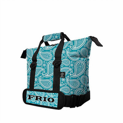 Frio 9 Can Cooler - Turquoise Paisley - Frio Ice Chests