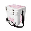 Frio 25 Qt White w/ 5 Panel 3M Vinyl King's Camo Pink Theme - Frio Ice Chests