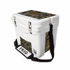 Frio 25 Qt White w/ 5 Panel 3M Vinyl Oilfield Camo Theme - Frio Ice Chests