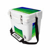 Frio 25 Qt w/ 5 Panel 3M Vinyl Mahi Theme - Frio Ice Chests