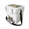 Frio 25 Qt White w/ 5 Panel 3M Vinyl GameGuard Theme - Frio Ice Chests