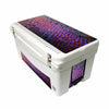 Frio 65 Qt w/ 5 Panel 3M Vinyl Purple Scale Theme - Frio Ice Chests