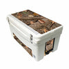 Frio 65 Qt White w/ 5 Panel 3M Vinyl King's Camo Woodland Theme - Frio Ice Chests