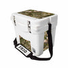 Frio 25 Qt White w/ 5 Panel 3M Vinyl King's Camo Mountain Theme - Frio Ice Chests