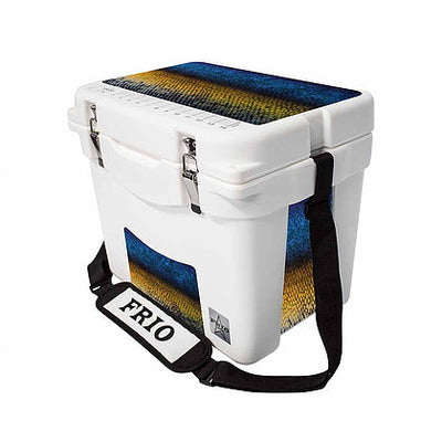 Frio 25 Qt w/ 5 Panel 3M Vinyl Marlin Theme - Frio Ice Chests
