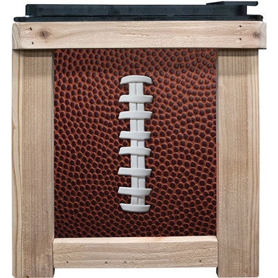 Frio Cedar 24 Can - Football Theme - Frio Ice Chests