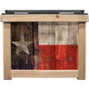 Frio Cedar 24 Can - Texas Theme - Frio Ice Chests