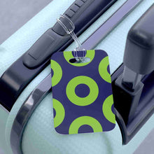 Load image into Gallery viewer, Phexico - Green Henrietta Donut Bag Tag - Luggage Tag - PH