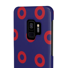 Load image into Gallery viewer, Red Circle Donut Case Mate Slim Phone Cases - PH