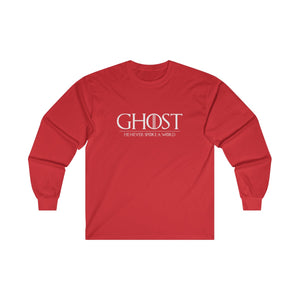 Ghost: He Never Spoke a Word Ultra Cotton Long Sleeve Tee