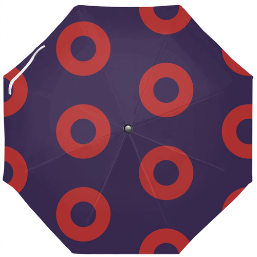 PH Red Circle Donut Umbrella Version 4