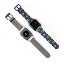 Load image into Gallery viewer, Phexico - Green Henrietta Donut Watch Strap - Green Henrietta Donut Pattern 4 - PH