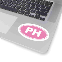 Load image into Gallery viewer, PH Euro Oval Sticker Solid PINK PINK