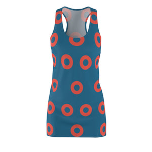 Phish Fishman Donut Women's Racerback Dress