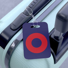 Load image into Gallery viewer, Red Circle Donut Bag Tag - Red Circle Donut - Luggage Tag - PH