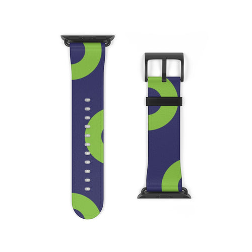 Phexico - Green Henrietta Donut Watch Strap - Green Henrietta Donut Pattern 3 - PH