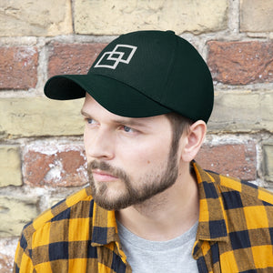 Kasvot Vaxt Embroidered Twill Hat