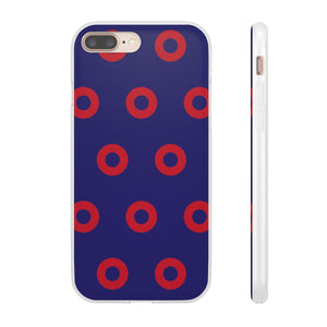 Red Circle Donut Flexi Cases - PH