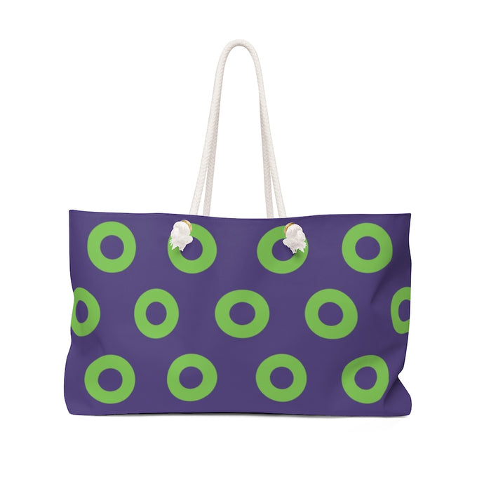 Mexico Green Donut Weekender Bag