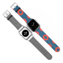 Load image into Gallery viewer, Fishman HEX Red Circle Donut Watch Strap