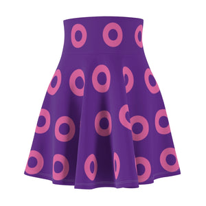 Pink Circle Donut Flair Skirt Small Donuts - Pink Donut - Fishman Donut - Donut Skirt, Mexico 2020, Pink Circle Donut