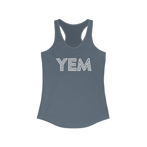 YEM You Enjoy Myself Women's Ideal Racerback Tank - PH