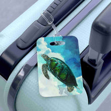 Load image into Gallery viewer, Turtles In The Clouds Bag Tag - Luggage Tag - PH