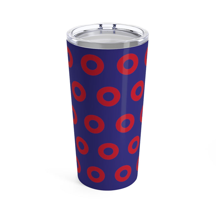 PH Red Circle Donut Tumbler 20oz