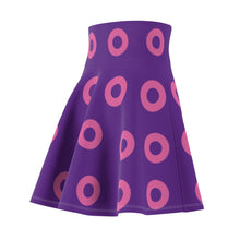 Load image into Gallery viewer, Pink Circle Donut Flair Skirt Small Donuts - Pink Donut - Fishman Donut - Donut Skirt, Mexico 2020, Pink Circle Donut