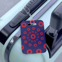Load image into Gallery viewer, Red Circle Donuts Bag Tag - Luggage Tag - PH