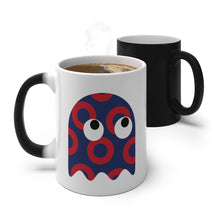Load image into Gallery viewer, GHOST Color Changing Red Circle Donut GHOST Mug - PH