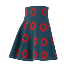 Load image into Gallery viewer, Phish Fishman Donut Flair Skirt Donuts 2 - Red Donut- Fishman Donut - Donut Skirt, Phan Circle Donut
