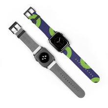 Load image into Gallery viewer, Phexico - Green Henrietta Donut Watch Strap - Green Henrietta Donut Pattern 3 - PH
