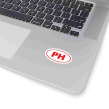 Load image into Gallery viewer, PH Euro Oval Sticker RED