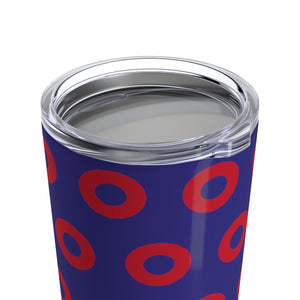 Red Henrietta Circle Donut Tumbler 20oz - PH
