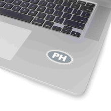Load image into Gallery viewer, PH Euro Oval Sticker Solid GREY