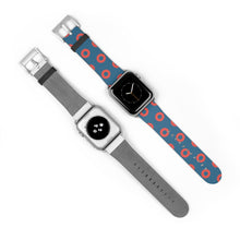 Load image into Gallery viewer, Fishman HEX Red Circle Donut Watch Strap - Small Donuts