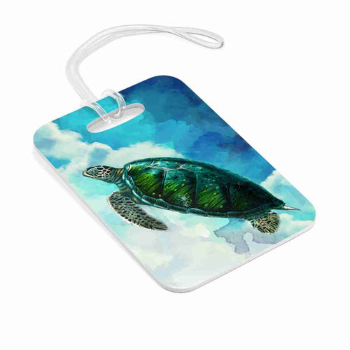 Turtles In The Clouds Bag Tag - Luggage Tag - PH