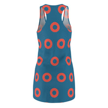 Load image into Gallery viewer, Phish Fishman Donut Women's Racerback Dress