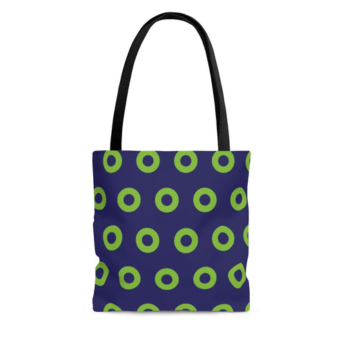 Phexico - Green Henrietta Donut Tote Bag - Green Donut - PH