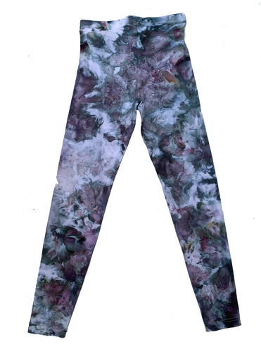 Tie Dye Womens Leggings - Medium
