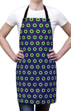 Load image into Gallery viewer, Phexico - Green Henrietta Donut Apron - Green Donut - PH