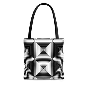 Kasvot Vaxt Optical Squares Tote Bag - PH