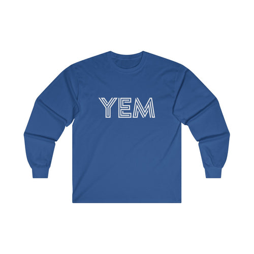 YEM Ultra Cotton Long Sleeve Tee