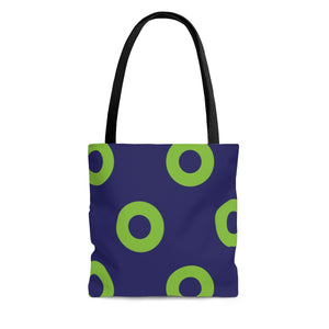 Phexico - Green Henrietta Donut Tote Bag - Giant Donuts - PH
