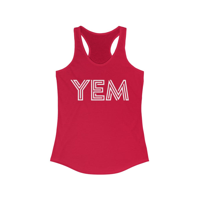 YEM Women's Ideal Racerback Tank - PH