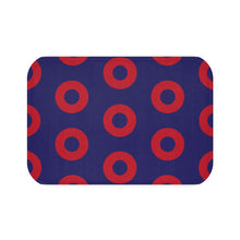 Load image into Gallery viewer, Red Circle Donut Bath Mat - PH
