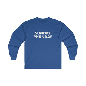 Sunday Phunday Ultra Cotton Long Sleeve Tee