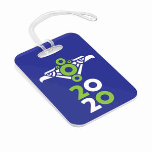Phexico - Mexico 2020 - Phexico - Purple Green Donut Bag Tag